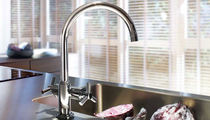 kitchen double handle mixer tap ATRIO GROHE