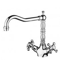 kitchen double handle mixer tap DELFI - Z46317.8008 ZUCCHETTI RUBINETTERIA