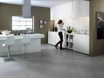 kitchen porcelain stoneware tile ARK : STEEL CASTELVETRO