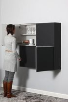 kitchen wall cabinet CUBE by Chris Vankeirsbilck Ghekiere Industries