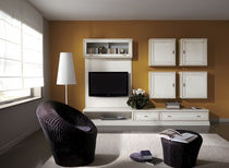 contemporary lacquered TV wall unit DOLCE VITA FBL