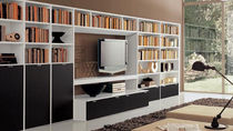 contemporary lacquered TV wall unit  GAB