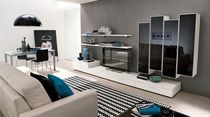 contemporary lacquered TV wall unit GOLF: 608 Colombini