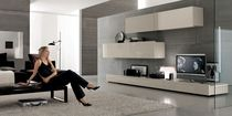 contemporary lacquered TV wall unit TODAY 13 Passport