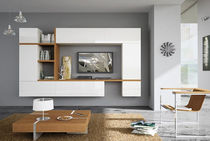 contemporary lacquered TV wall unit  SISTEMITALIA GROUP
