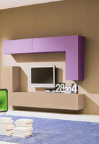 contemporary lacquered TV wall unit  Mob. Granzotto