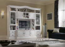 lacquered wood traditional TV wall unit FIRENZE : 900  VACCARI CAV. GIOVANNI