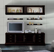 lacquered wood traditional TV wall unit FIRENZE : 920 VACCARI CAV. GIOVANNI