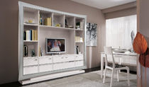 lacquered wood traditional TV wall unit ROMA  VACCARI CAV. GIOVANNI