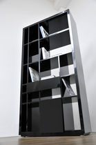 lacquered wooden contemporary bookcase S01 SABINOAPRILE/Interior Design
