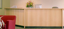 laminate reception desk LCIS32 BRETFORD