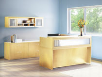 laminate reception desk ABERDEEN  MAYLINE
