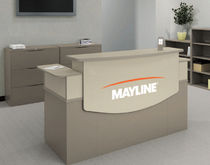 laminate reception desk CSII MAYLINE