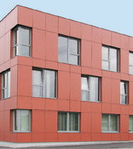 laminated facade cladding MAX EXTERIOR | SURFACE NM FunderMax