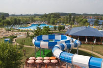 large water slide for aquatic-parks SPACE BOAT   Myrtha Pools