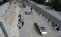 launch box for skatepark  Divers cité