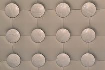 leather wall tile: geometric pattern TONDO- LEATHER MARBLE WALL COVERING Prodital