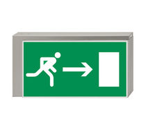 LED emergency light with exit sign LISU Daisalux
