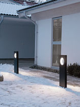 LED garden bollard light MOON 800 mm Platek Light