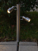 LED garden bollard light MEGASPOT staub-designlight ag
