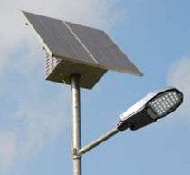 LED solar lamp post POWERLED 30 K HELIOS Technology