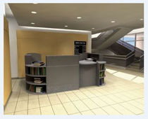 library reception desk  NOVA