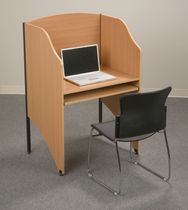 library workstation FLOOR CARREL MooreCo