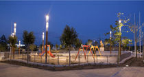 light column for public spaces VOXO AUBRILAM