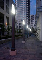light column for public spaces TM107 LUMINIS