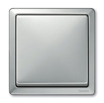 light switch with metal finishing ARTEC STAINLESS STEEL Merten GmbH &amp; co. KG