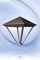 lighting for traditional lamp post PYRAMIDE 4V2 Fontes de Paris