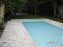 limestone paving tile for exterior floors NOIRLAC ATELIER NAFFRE