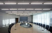 linear ceiling mounted fluorescent light SWING Aspeqt Sweden AB