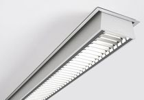 linear ceiling mounted fluorescent luminaire (for offices) TIME by Bengt Källgren ATELJE LYKTAN