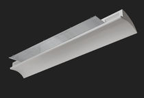 linear ceiling mounted fluorescent luminaire (for offices) END by Letizia Mammini, Valeria Candido BUZZI &amp; BUZZI