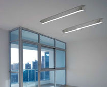 linear ceiling mounted fluorescent luminaire LOG OUT by In House  MOLTO LUCE