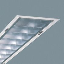 linear recessed fluorescent ceiling luminaire (for offices) MADO REGENT