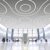 linear recessed LED ceiling luminaire FULL CIRCLES / ORGANIC SHAPE WINONA LIGHTING