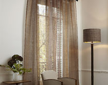 linen sheer curtain fabric CADENCE  CREATIONS METAPHORES