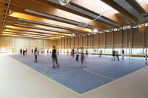 linoleum sports floor LUMAFLEX DUO LINOSPORT Tarkett