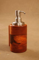 liquid soap dispenser  Unique Wood Design