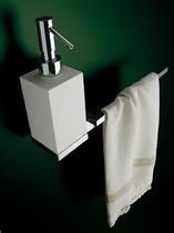 liquid soap dispenser with towel rail BLOCK SOLMET