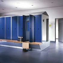 locker for public buildings EVOLO S3000 5 C+P Moebelsysteme