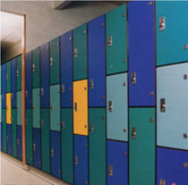 locker for public buildings  sport France