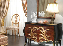 Louis XV classic style sideboard LOUIS XV EMPERADOR BLACK  VIMERCATI MEDA CLASSIC FURNITURE