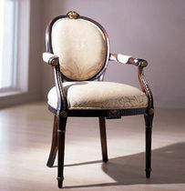Louis XVI classic style medallion armchair THE MUSIC ROOM ALTHORP
