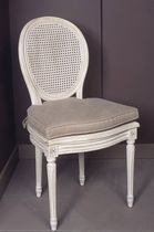 Louis XVI classic style medallion chair  JCB INT&Eacute;RIEURS