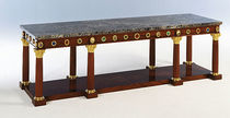 Louis XVI classic style sideboard table Henrich Gombs reproduction Craman Lagarde