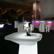 luminous garden high bar table MOMA by Mariscal VONDOM