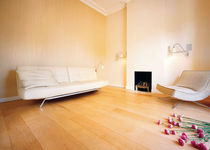 maple engineered wood floor BROWN : SATIN POLY EBONY AND CO